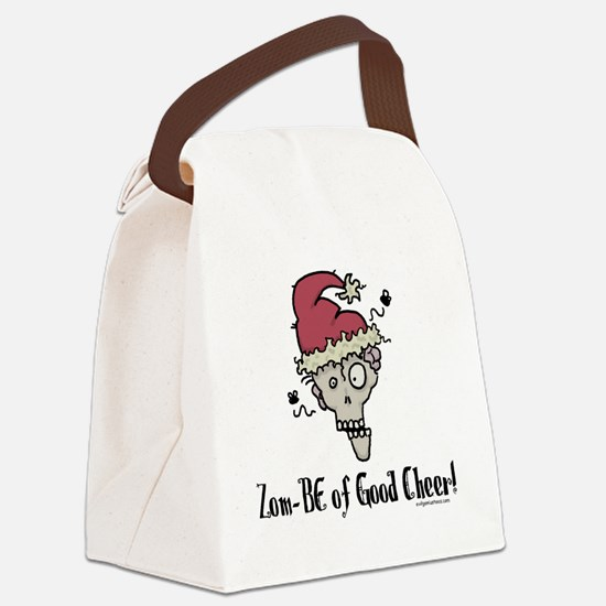 zombieofgoodcheer Canvas Lunch Bag