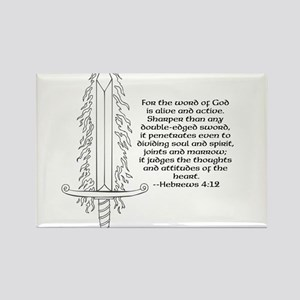 Hebrews 4:12 Magnets
