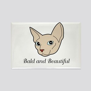 Baldy Cat Magnets