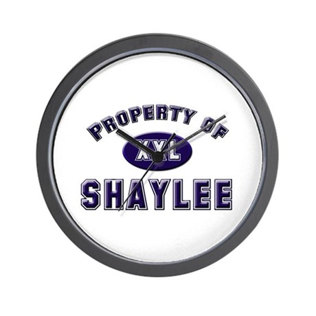 Property of shaylee Wall Clock