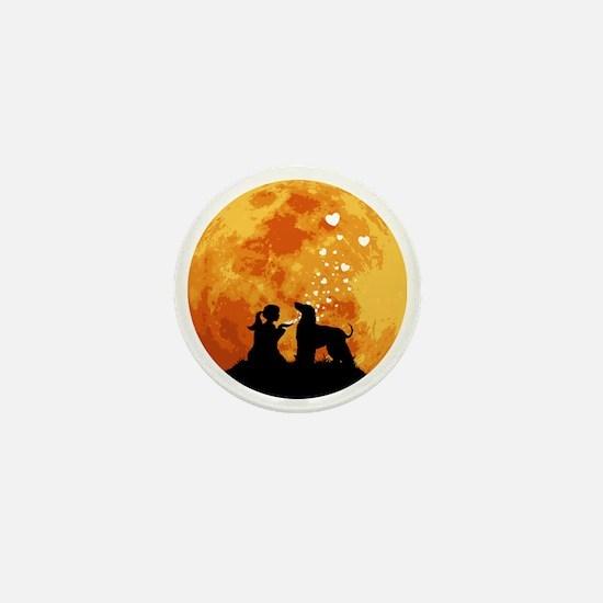 Afghan-Hound22 Mini Button