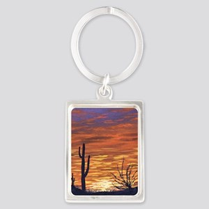 sonoran sunset magnet Portrait Keychain