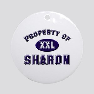 Property of sharon Ornament (Round)