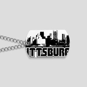 Pittsburgh Skyline Dog Tags