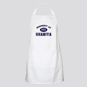 Property of shaniya BBQ Apron
