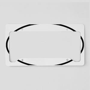 kazoo oval License Plate Holder