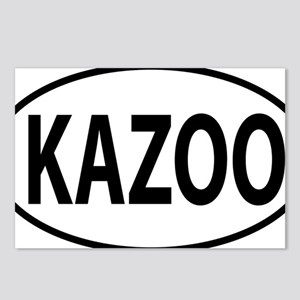 kazoo oval Postcards (Package of 8)