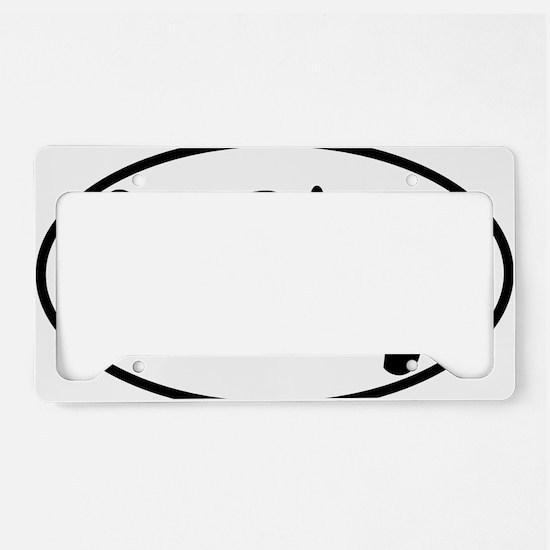 SANDIEGO SD oval License Plate Holder