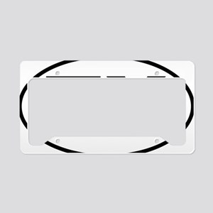 Texas TX txt tax oval License Plate Holder