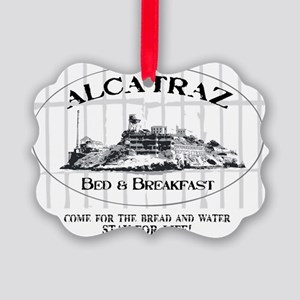 ALCATRAZ BB Picture Ornament