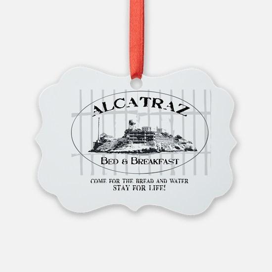 ALCATRAZ BB Ornament