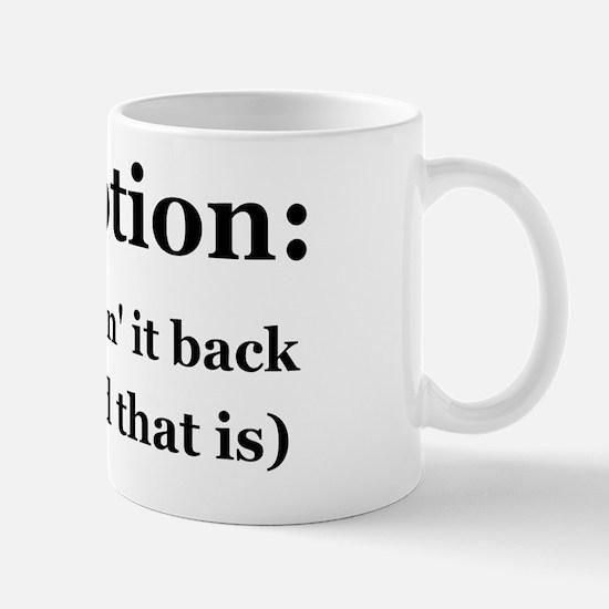 gump_web(BnWtext) Mug