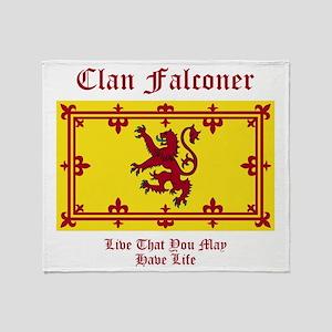 Falconer Throw Blanket