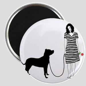 Dogo-Argentino11 Magnet