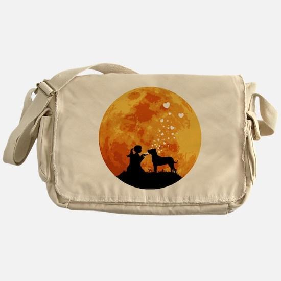 Dogo-Argentino22 Messenger Bag