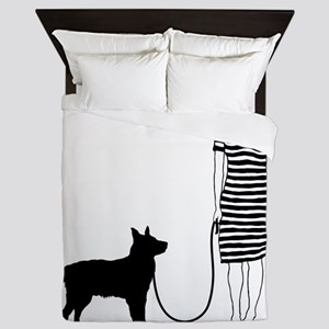 Australian-Cattle-Dog11 Queen Duvet