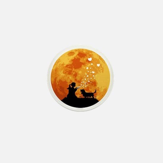 Basset-Hound22 Mini Button
