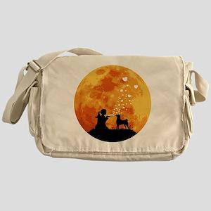 Basenji22 Messenger Bag