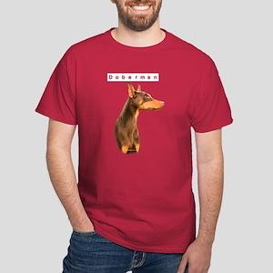 Dobie Head Dark T-Shirt
