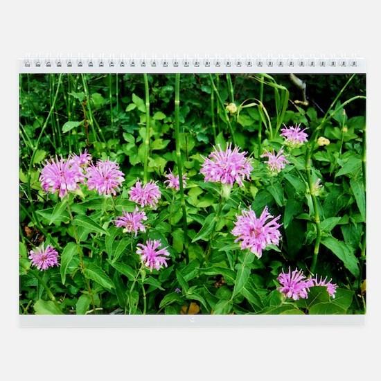 Flower Power Wall Calendar