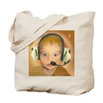 Baby Aviator Golden Fox & Copper Sunset Tote Bag