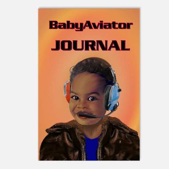 Baby Aviator Postcards (Package of 8)