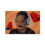 Baby Aviator Rectangle Magnet (10 pack)