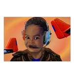 BabyAviator Red Tail Postcards (Package of 8)