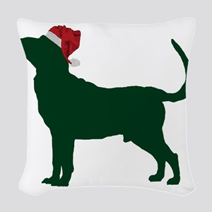 Bloodhound23 Woven Throw Pillow