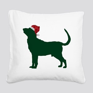 Bloodhound23 Square Canvas Pillow