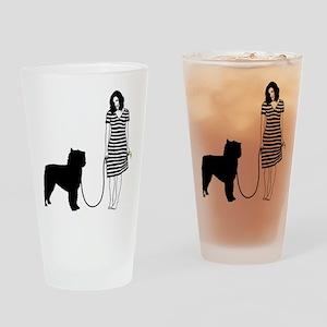 Bouvier-des-Flandres11 Drinking Glass