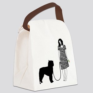 Bouvier-des-Flandres11 Canvas Lunch Bag