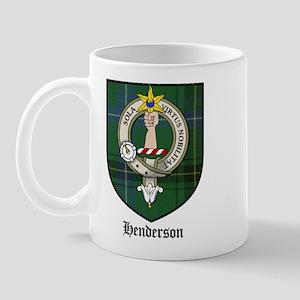Henderson Clan Crest Tartan Mug