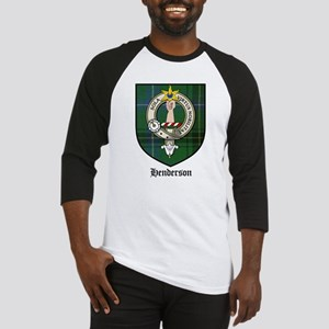 Henderson Clan Crest Tartan Baseball Jersey