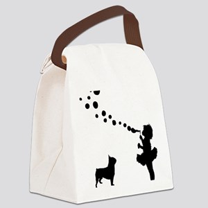 Boston-Terrier28 Canvas Lunch Bag