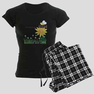 You Are My Sunshine Infant B Women's Dark Pajamas