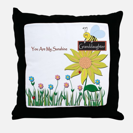 You Are My Sunshine Infant Blanket Throw Pillow