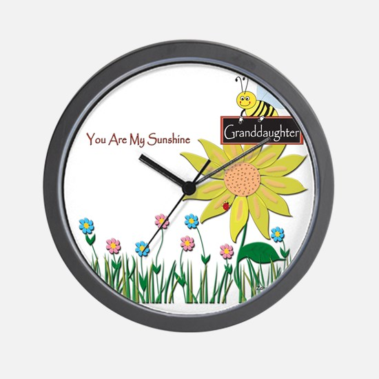 You Are My Sunshine Infant Blanket Wall Clock