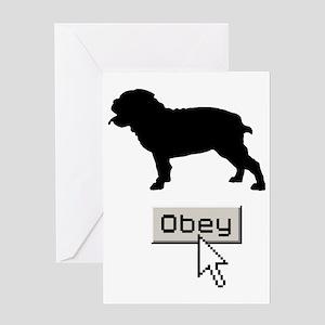 Bulldog15 Greeting Card
