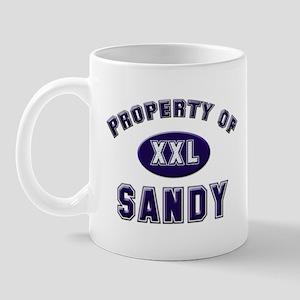 Property of sandy Mug