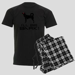 Canaan-Dog24 Men's Dark Pajamas