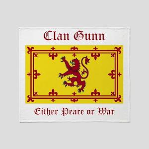 Gunn Throw Blanket