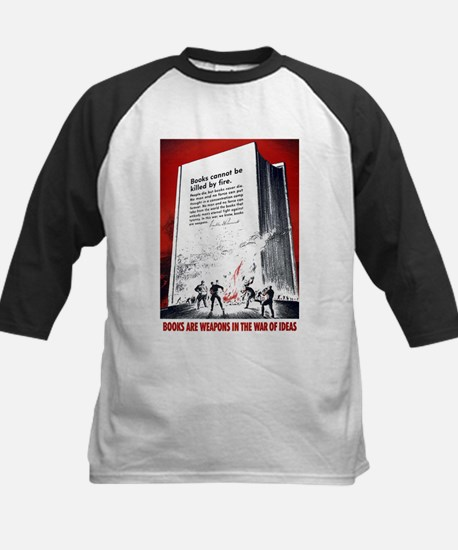 Books Are Weapons Kids Baseball Jersey