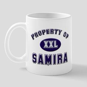 Property of samira Mug
