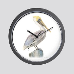 pelican  Wall Clock