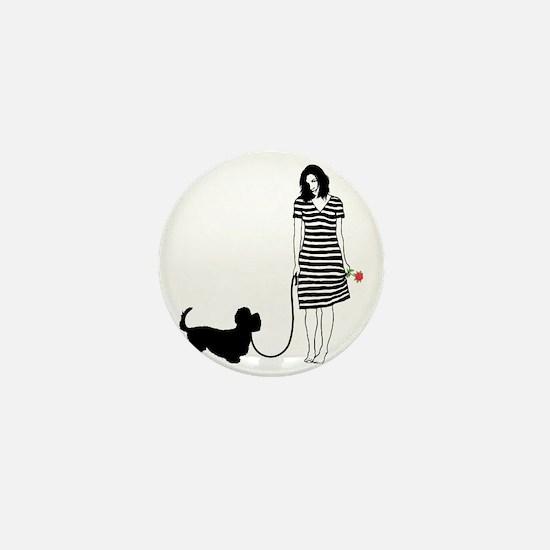 Dandie-Dinmont-Terrier11 Mini Button