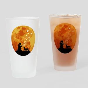 Dachshund22 Drinking Glass