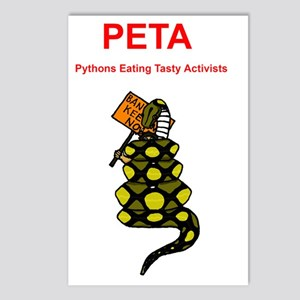 PETA Postcards (Package of 8)