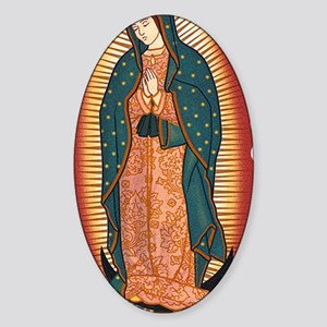 guadalupe_y Sticker (Oval)