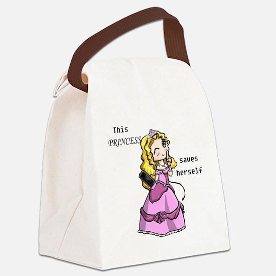 3-princess Canvas Lunch Bag